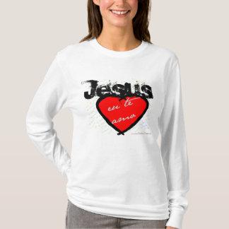 Jesus eu te amo HOODIE
