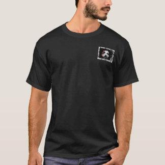 Jesus Face Bleed Framed T-Shirt