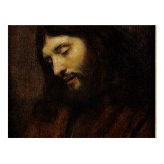 Jesus Face Side View Postcards