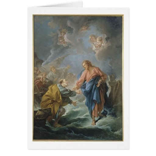 Jesus Faith Christ Christian Inspirational Destiny Card