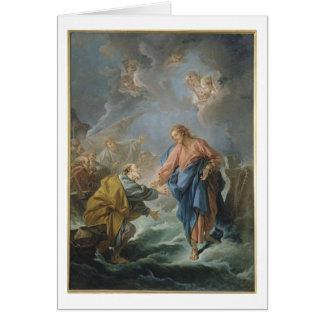 Jesus Faith Christ Christian Inspirational Destiny Greeting Card