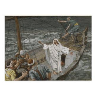 Jesus Faith Christ Christian Inspirational Destiny Postcard