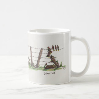 Jesus Fence Coffee Mug
