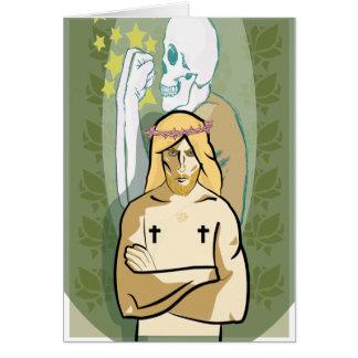 Jesus FiGhT Card