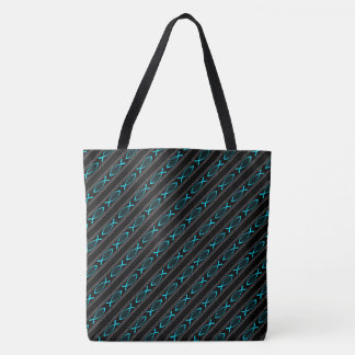 Jesus Fish and Rope Tote Bag