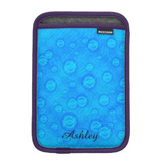 Jesus fish in bubbles iPad mini sleeve