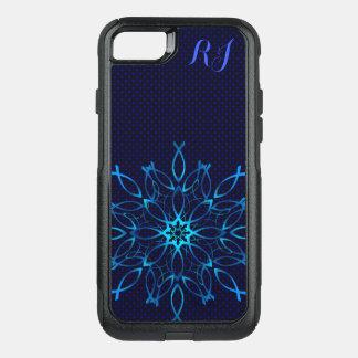 Jesus fish mandala OtterBox commuter iPhone 8/7 case