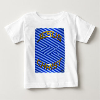 JESUS Fish Optical Illusion Baby T-Shirt