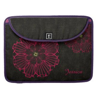 Jesus fish rose sleeve for MacBooks