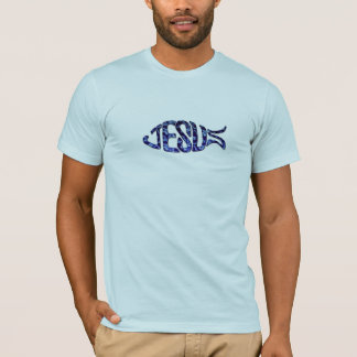 "JESUS FISH : The Greek word for fish is ""ichthys."" T-Shirt"