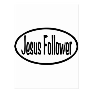 Jesus Follower Postcard