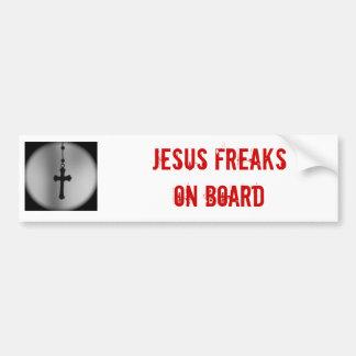 Jesus Freak Bumper Sticker