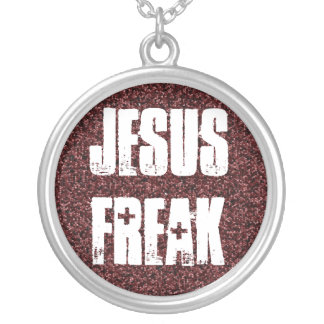 Jesus Freak Silver Plated Necklace