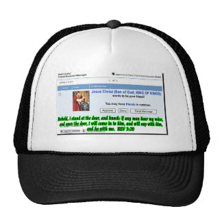 Jesus Friend Request Trucker Hat