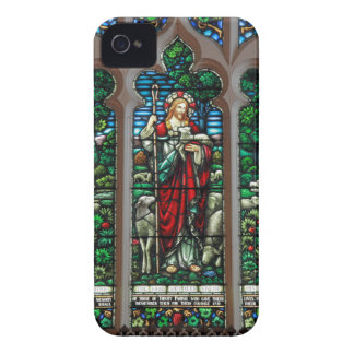 Jesus Good Shepherd Savior Mosaic iPhone 4 Cover