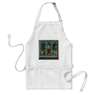 Jesus Good Shepherd Savior Mosaic Standard Apron