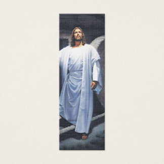 Jesus Has Risen- Book Mark-Quick Scriptures Mini Business Card