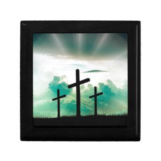 Jesus Has Risen (Three Crosses) Gift Box