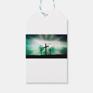 Jesus Has Risen (Three Crosses) Gift Tags