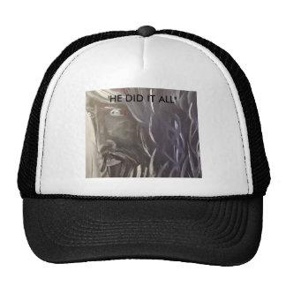 """""""Jesus"""" He did it all Trucker Hat"""