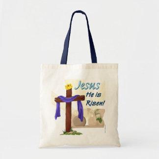 Jesus He is Risen bag