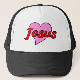 Jesus Heart Trucker Hat
