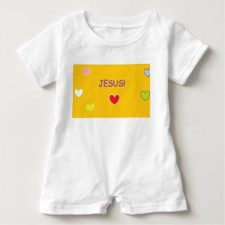 Jesus Hearts Baby Romper