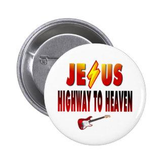 Jesus Highway to Heaven Pins