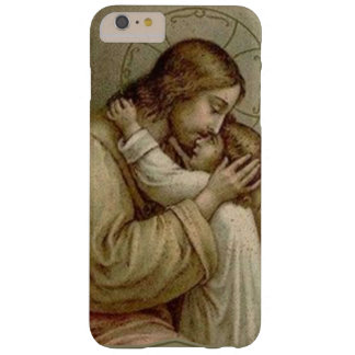 Jesus holding young girl child barely there iPhone 6 plus case