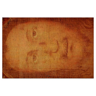 Jesus Holy Face Shroud Manoppello Linen Cloth Fabric
