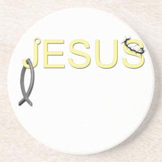 Jesus hook And Fish Coaster