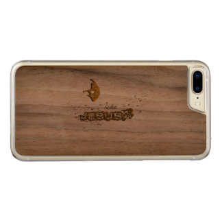 JESUS, I love JESUS Carved iPhone 8 Plus/7 Plus Case