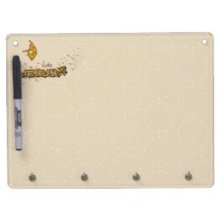 JESUS, I love JESUS Dry Erase Board With Keychain Holder
