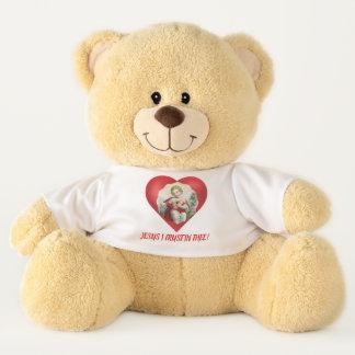 Jesus I Trust in Thee Teddy Bear