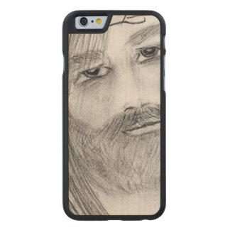 jesus in agony carved® maple iPhone 6 slim case