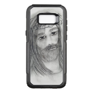 jesus in agony OtterBox commuter samsung galaxy s8+ case