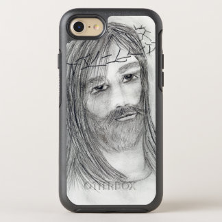 jesus in agony OtterBox symmetry iPhone 8/7 case