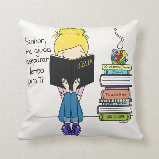 Jesus in the first place throw pillow