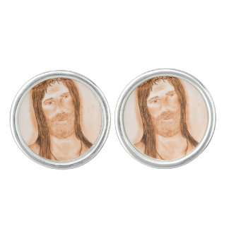 Jesus in the Light Cuff Links