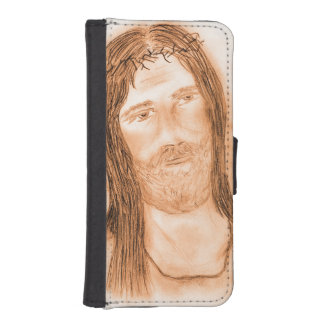 Jesus in the Light iPhone SE/5/5s Wallet Case
