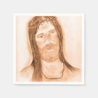 Jesus in the Light Paper Napkins