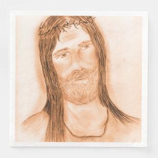 Jesus in the Light Paper Napkins