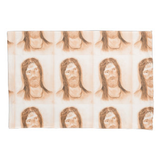Jesus in the Light Pillowcase