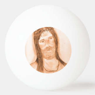 Jesus in the Light Ping Pong Ball