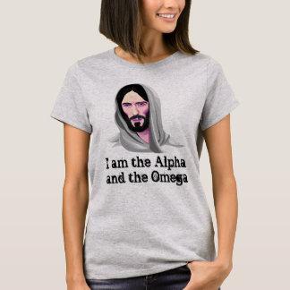 Jesus in Vector Custom Text T-Shirt