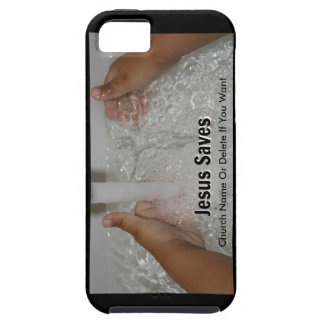 Jesus In Water With Two Thumbs Up Church Promotion Case For The iPhone 5