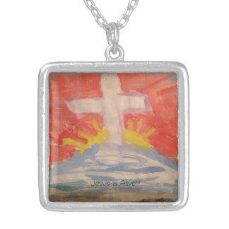 Jesus is Alive Necklace