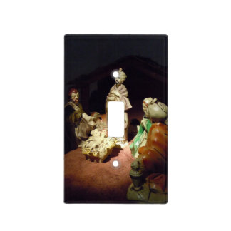 Jesus is Born Light Switch Cover