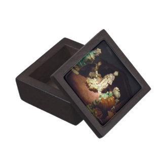Jesus Is Born Premium Jewelry Box