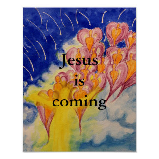 Jesus Is Coming Poster